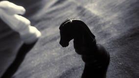 Cavaliere nero Immagini Stock Libere da Diritti