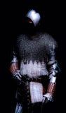 Cavaliere scuro fotografie stock