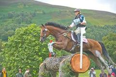 Cavaliere svizzero: Prove di cavallo internazionali 2011. Fotografie Stock