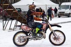 Cavaliere Vladimir Yarygin di FMX Fotografia Stock Libera da Diritti