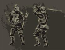 Cavalieri Immagini Stock Libere da Diritti