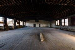 Cavalieri abbandonati della casetta di Pythias - ospedale abbandonato di Statts - Charleston, Virginia Occidentale fotografia stock libera da diritti
