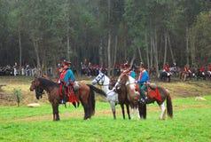 Cavalieri del cavallo Fotografia Stock Libera da Diritti