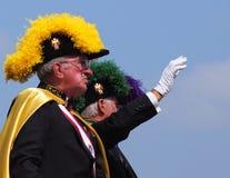 Cavalieri della parata di K-giorni di Columbus In immagini stock