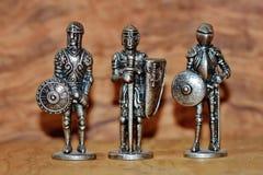 Cavalieri medioevali fotografia stock