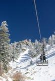Sollevamento di sedia di Mt. Baldy Fotografie Stock