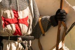 Cavalieri Templar immagine stock libera da diritti