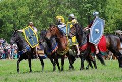 Cavaliers de cheval Images stock