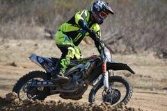 Cavaliers de moto Photo stock