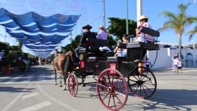 Cavaliers et chariots Images libres de droits