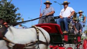 Cavaliers et chariots Image libre de droits