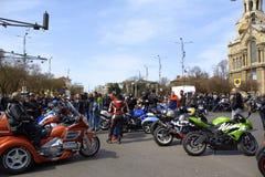 Cavaliers se réunissant, Varna Bulgarie Photos stock