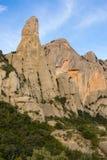 Cavall Bernat. Montañas de Montserrat. Fotos de archivo