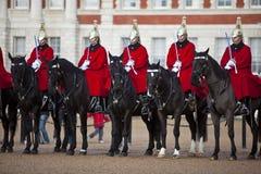 Cavalleria della famiglia Fotografie Stock