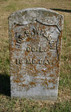 Cavalleria di Tomstone Missouri della guerra civile Immagine Stock Libera da Diritti