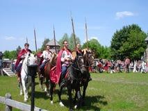 Cavalleria russa Fotografie Stock Libere da Diritti