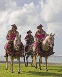 3 cavallerizzi Fotografia Stock Libera da Diritti