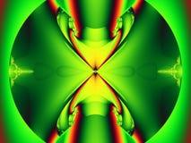 Cavalletta di frattale Fotografie Stock