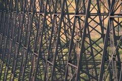 Cavalletti del ponte ad alto livello Immagini Stock Libere da Diritti