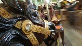 Cavalli del carosello fotografie stock