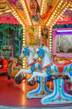 Cavalli del carosello per i bambini Immagine Stock Libera da Diritti