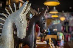 Cavalli di legno Fotografia Stock Libera da Diritti