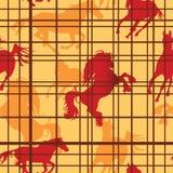 Cavalli senza giunte royalty illustrazione gratis