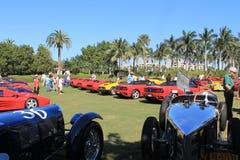 Bugattis & ferraris Cavallino classic event 01 Stock Image