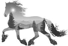 Cavallo illustrazione vettoriale