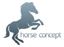 Cavallo astratto illustrazione di stock