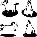 Cavallo bianco royalty illustrazione gratis