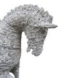 Cavallo bianco del cavo Fotografia Stock Libera da Diritti