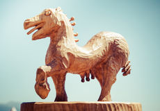 Cavallo celtico Immagini Stock