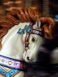 Cavallo del carosello Immagini Stock