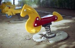 Cavallo del giocattolo Fotografie Stock