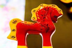 Cavallo del giocattolo fotografia stock