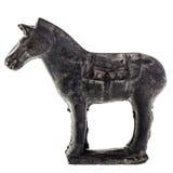 Cavallo del metallo immagini stock libere da diritti