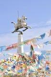 Cavallo del Tibet Fotografie Stock Libere da Diritti