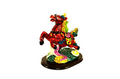 Cavallo della figurina fotografia stock