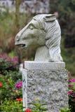 Cavallo dello zodiaco immagine stock libera da diritti