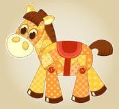 Cavallo di applicazione Immagine Stock