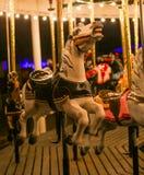 Cavallo di Carousal Fotografie Stock Libere da Diritti