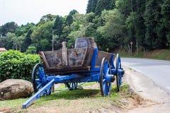 cavallo di carrello vecchio fotografie stock libere da diritti