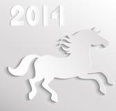 Cavallo di carta Immagini Stock