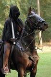 Cavallo di Halloween Immagini Stock