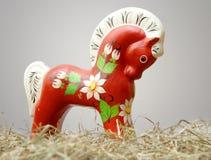 Cavallo di Hohloma Immagini Stock