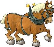 Cavallo di lavoro Fotografia Stock Libera da Diritti