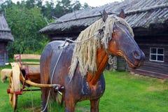 Cavallo di legno Fotografie Stock Libere da Diritti