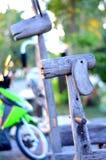 Cavallo di legno Immagini Stock