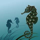 Cavallo di mare dei pesci. royalty illustrazione gratis